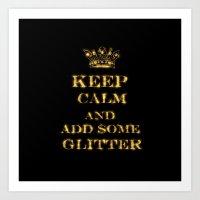 keep calm Art Prints featuring Keep calm by UtArt