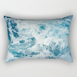 Sea Swirl Rectangular Pillow