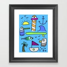Sea Things  Framed Art Print