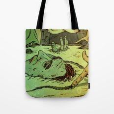 No Deep Breaths Tote Bag
