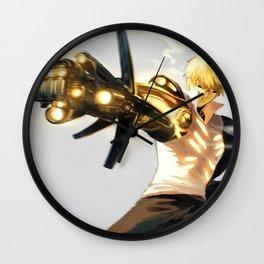 One Punch Man Genos Wall Clock