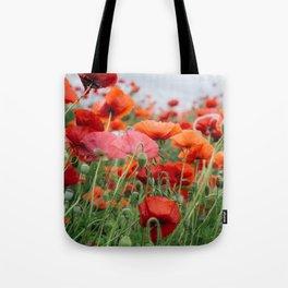 poppy field #society6 #decor #buyart Tote Bag