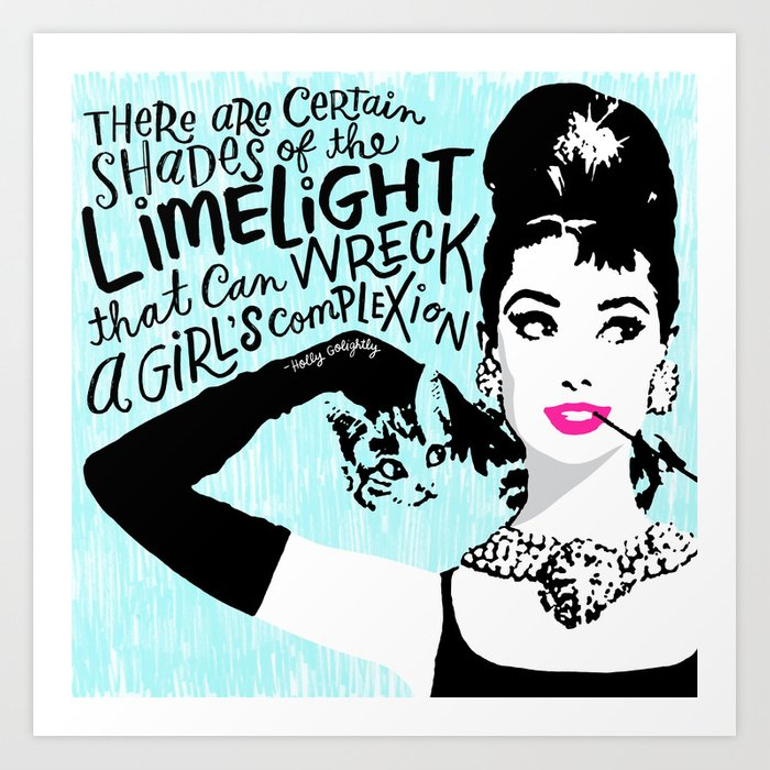Certain Shades of the Limelight Art Print