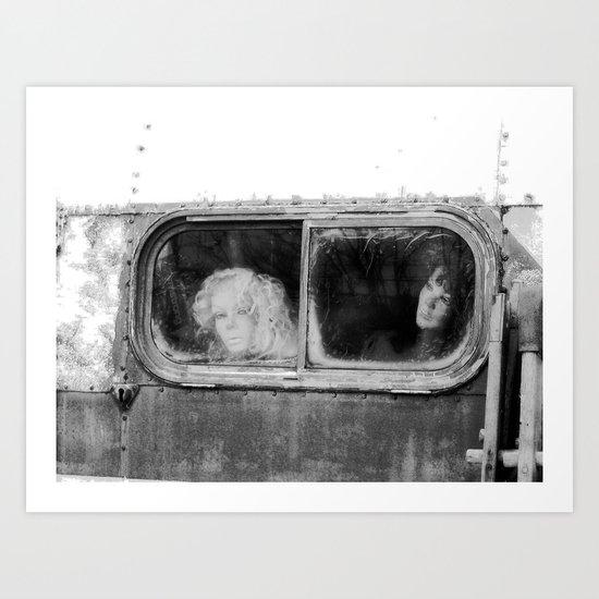 Motionless Journey Art Print