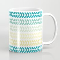knit Mugs featuring Knit 1 by K&C Design