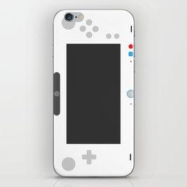 Wiite U iPhone Skin