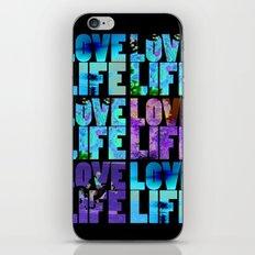 Love Life iPhone & iPod Skin