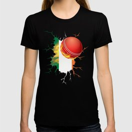 Ireland Cricket Kit : 2019 Irish International Fans Gift T-shirt