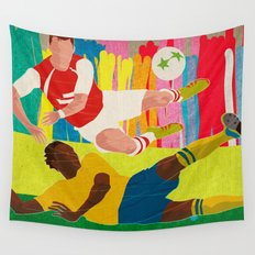 Deciding Game. Wall Tapestry