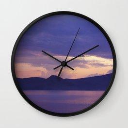 Lake 3 Wall Clock