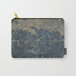 Vintage Astronomical Charts - Stars and Constellations Carry-All Pouch