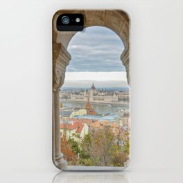 Fisherman's Bastion Budapest Hungary view iPhone Case