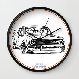 Crazy Car Art 0011 Wall Clock