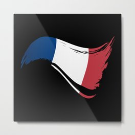 The Flag of France I Metal Print