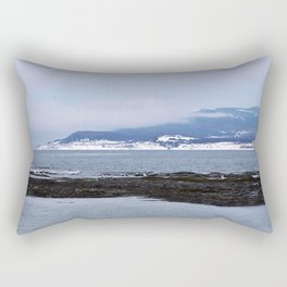 Tourelle In Winter White Rectangular Pillow