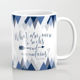 Pride & Prejudice - Mountains Coffee Mug