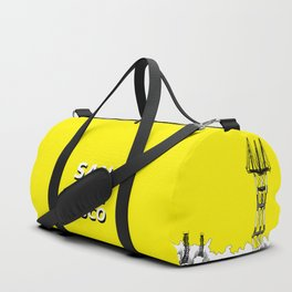 San Francisco - Sutro Tower (yellow sky) Duffle Bag