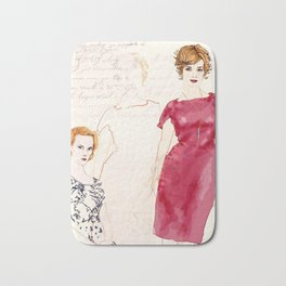 Joan Holloway Bath Mat