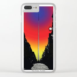 The Spire, Dublin Clear iPhone Case