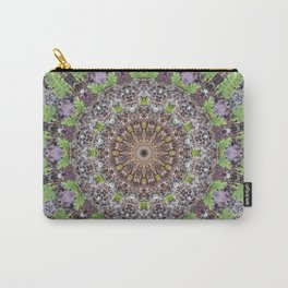 Natural elements in forest mandala Carry-All Pouch