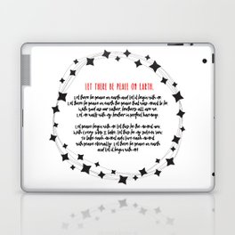 Let There Be Peace on Earth Laptop & iPad Skin