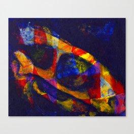 Horse Skull Abstract Canvas Print
