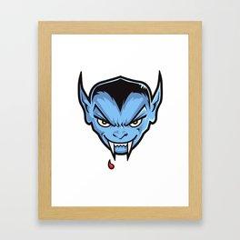 VAMPY (HEAD ONLY) Framed Art Print