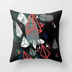 Prisms Throw Pillow