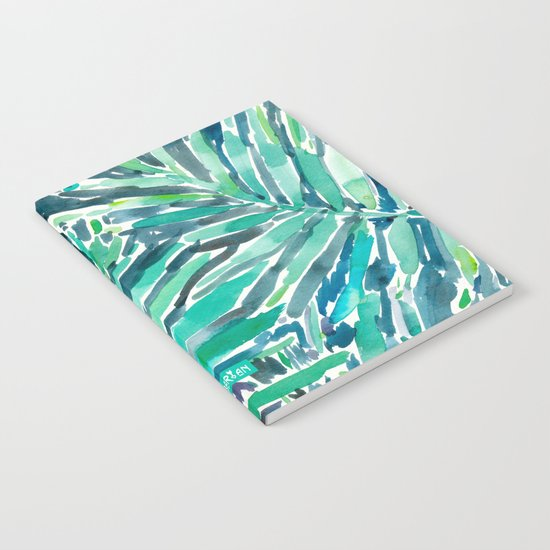 TROPICAL CANOPY Palm Leaves Notebook
