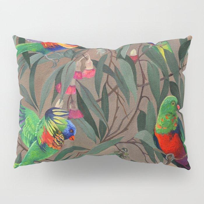 Birds of Paradise. Pillow Sham