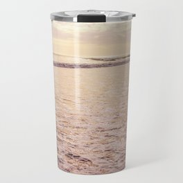 Quiet Moments on Cayucos Beach Travel Mug