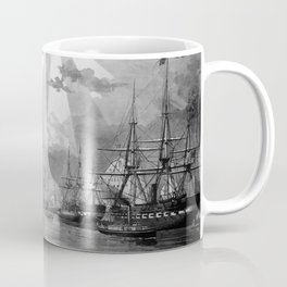 Civil War Ships of the United States Navy Coffee Mug