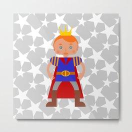 Fairy Tale Handsome Prince Metal Print