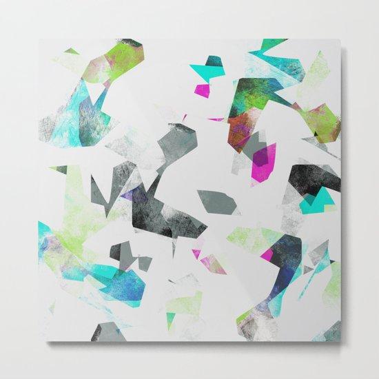 Camouflage XXXII Metal Print