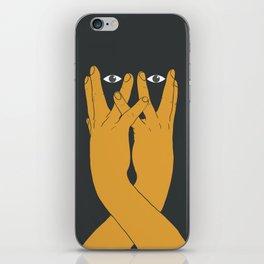 Hands mask iPhone Skin