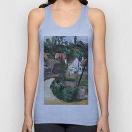 1881 - Paul Cezanne - Turn in the Road Unisex Tank Top