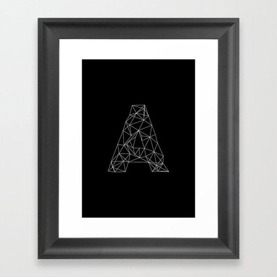 Adamas Framed Art Print