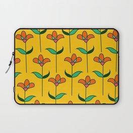 Genevieve - Yellow Laptop Sleeve