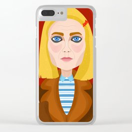 Margo Tenenbaum Clear iPhone Case