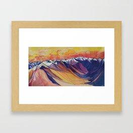 Little Ring Mountain :: Great Big Story Framed Art Print