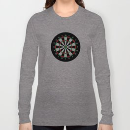 darts game board classic target  Long Sleeve T-shirt