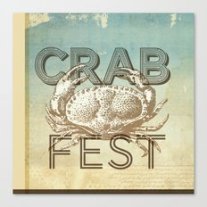 Crab Fest Canvas Print