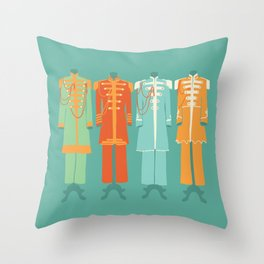 Sgt Peppers Lonely Hearts Club Throw Pillow