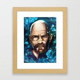 Breaking Bad - Walter White Framed Art Print