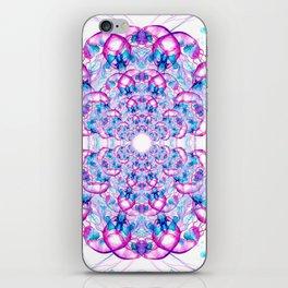 Jellyfish Mandala iPhone Skin