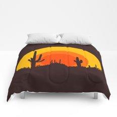 mucho calor Comforters