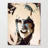 teeth Canvas Prints featuring Teeth by Rebekah Robinson