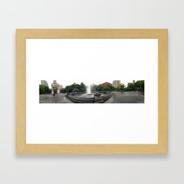 Washington Square Park Framed Art Print
