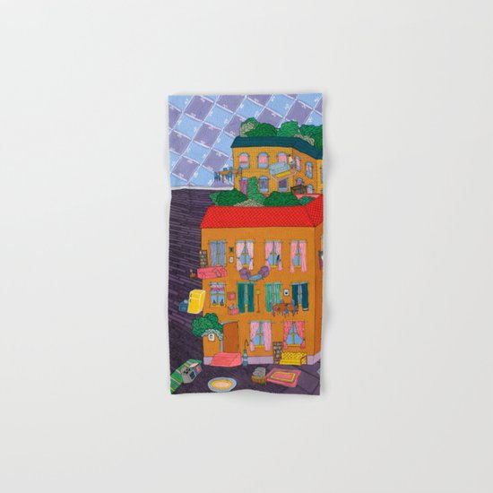 Inside Out Apartment Hand & Bath Towel