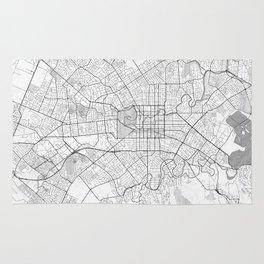 Christchurch Map Line Rug